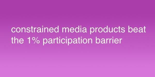 制約メディアの企画・デザイン